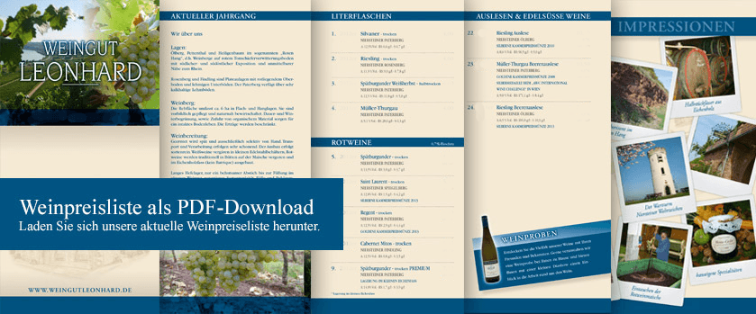 Weinkarte Download